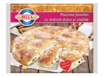 Placinta familiei cu branza dulce si stafide 1kg