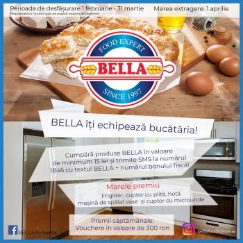 """Concursul """"Bella iti echipeaza bucataria!"""""""